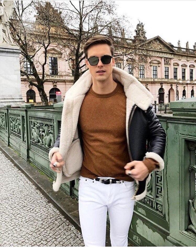Белые джинсы не только для лета!